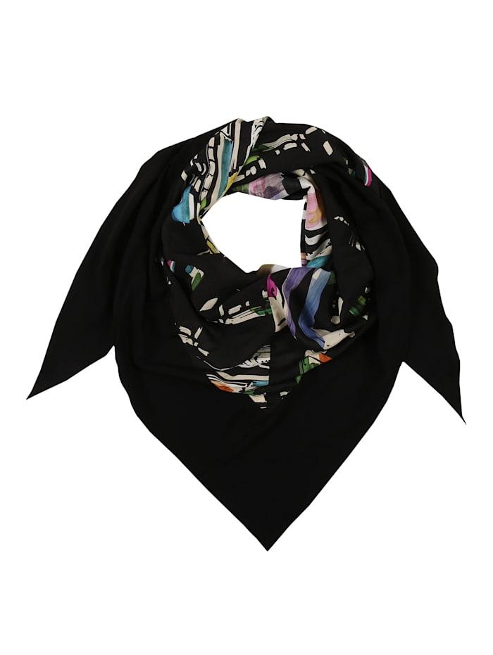Doris Streich Dreieckstuch mit Allover-Muster, multicolor