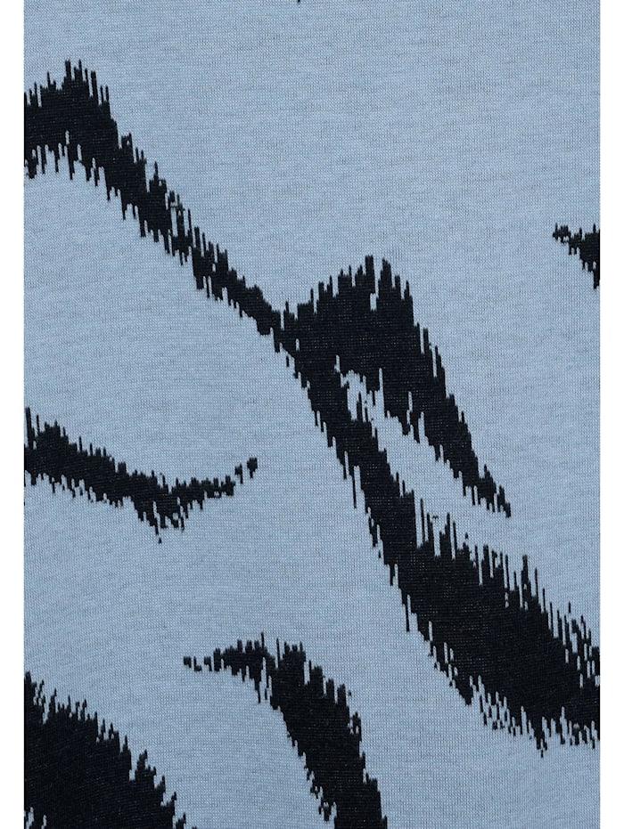 Shirt mit Zebra Print