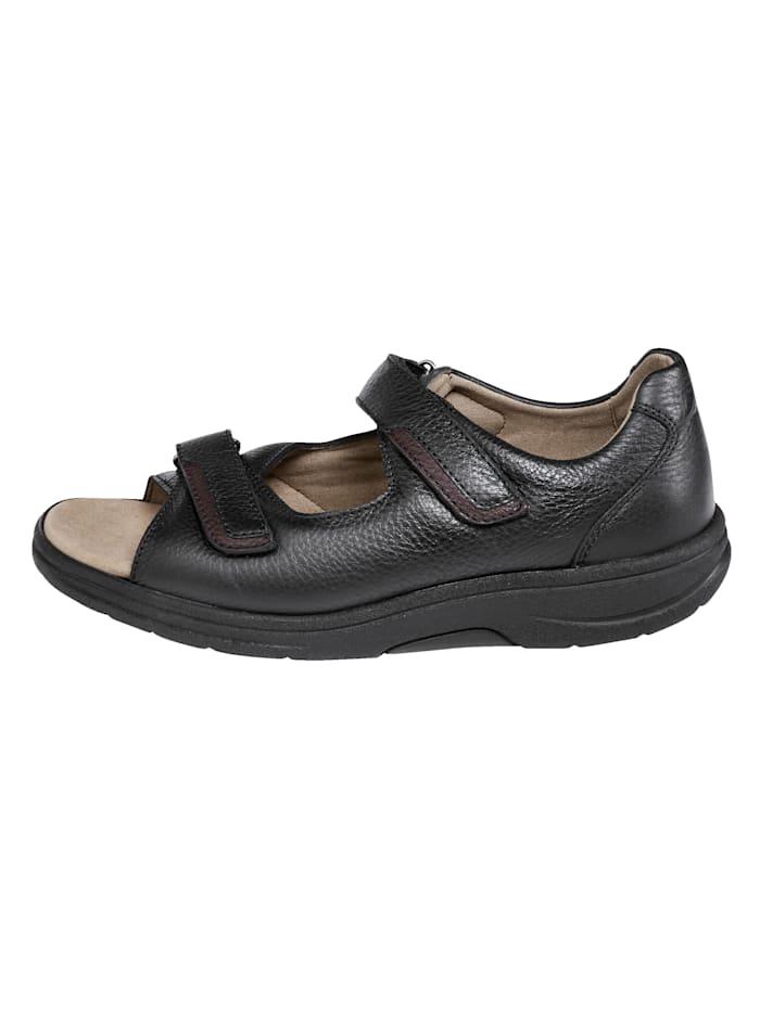 Sandaal met dichte hiel