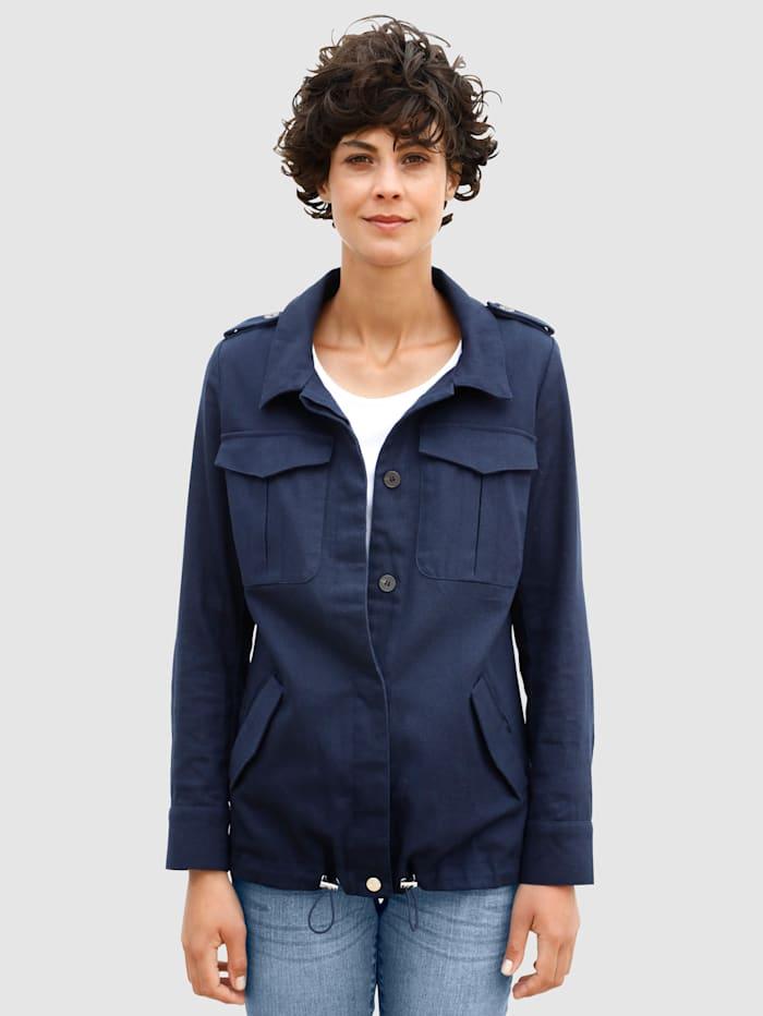 Dress In Jacke im Utilitistil, Marineblau