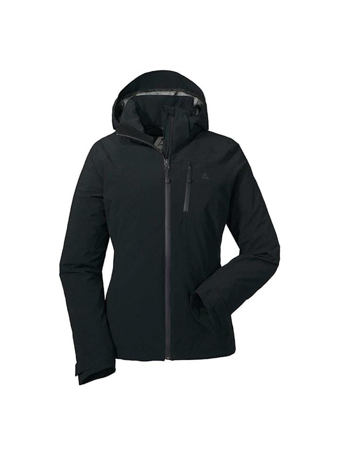 Schöffel Schöffel Jacke ZipIn! Jacket Meran1, Schwarz