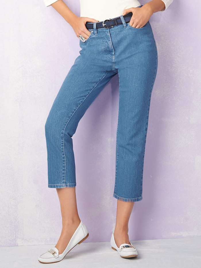 Ultimate cropped jeans in a flattering cut