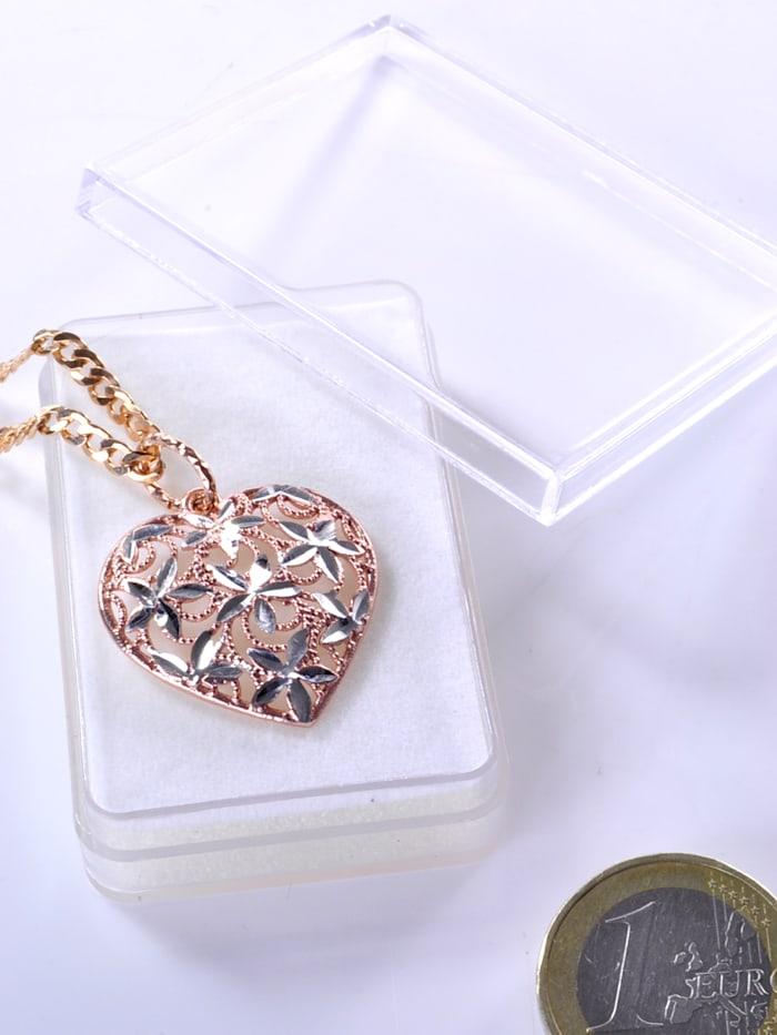 1001 Diamonds Damen Schmuck Edelstein Ammonit Anhänger 925 Silber braun, braun