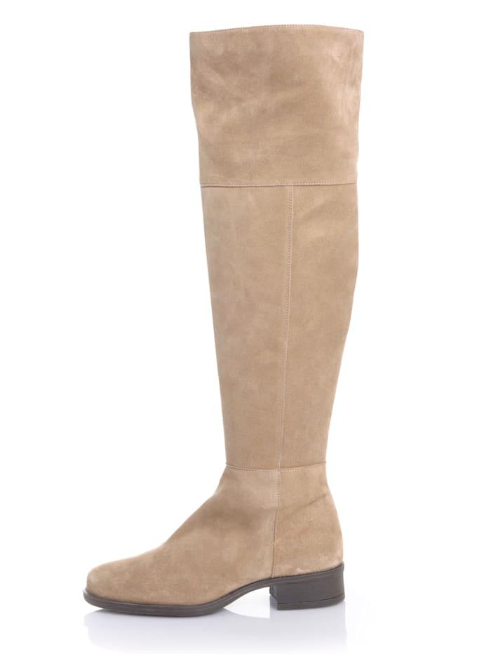 Overknee-Stiefel in sportiver Form