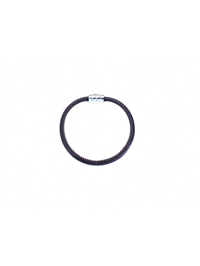 1001 Diamonds Damen Silberschmuck 925 Silber Armband 19 cm, silber