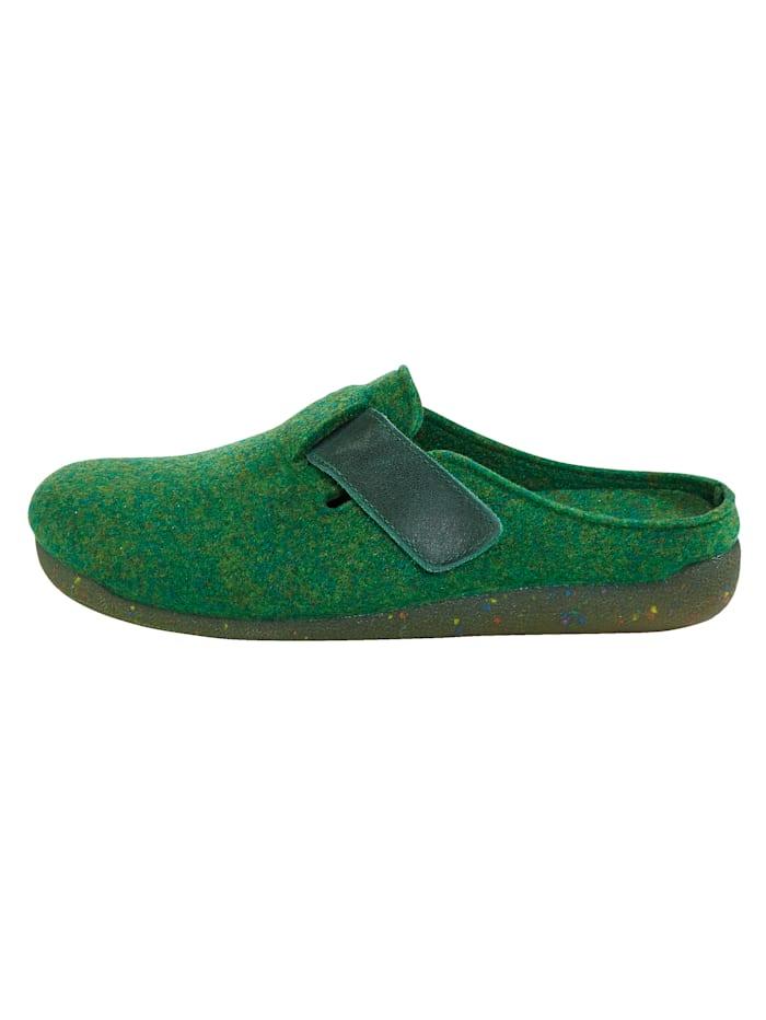 Pantoffel Filzoptik