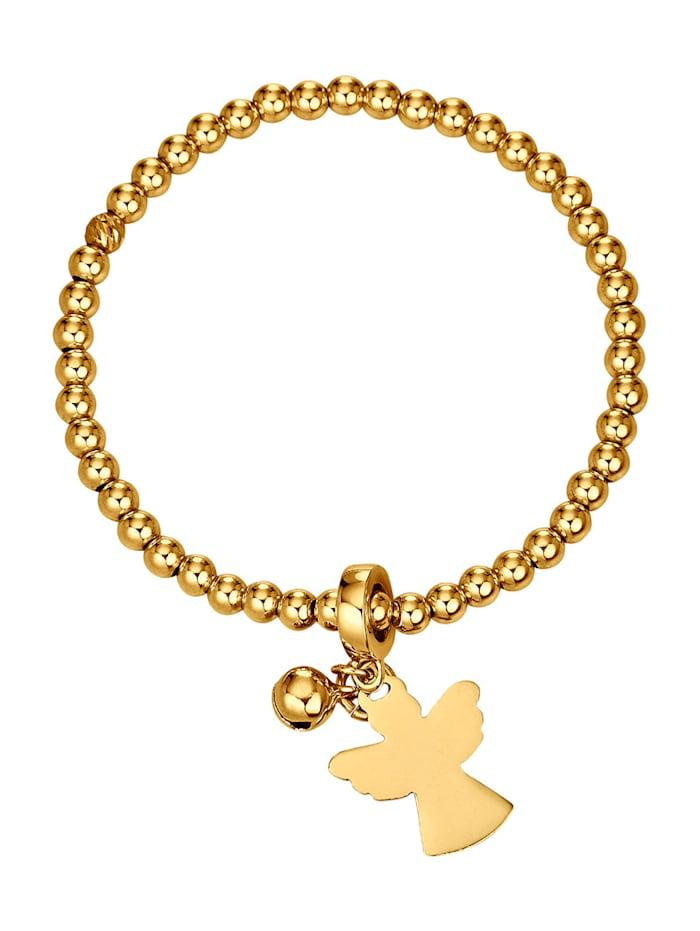 Golden Style Kugelarmband vergoldet, Gelbgoldfarben
