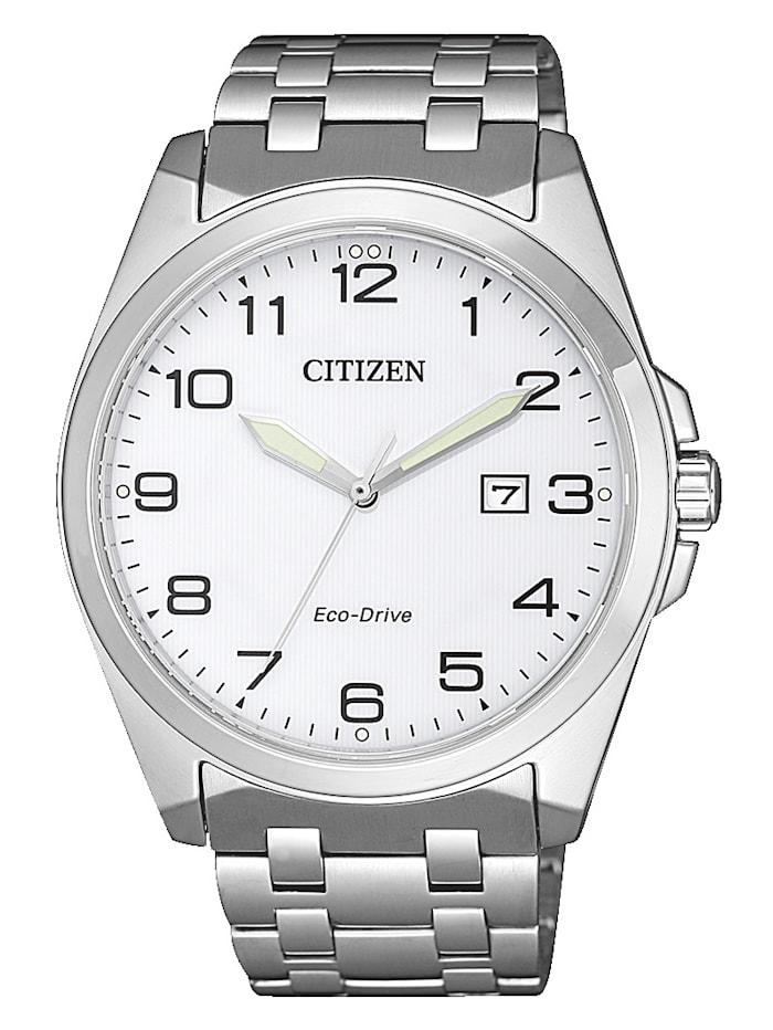 Citizen Herrenuhr Eco-Drive BM7108-81A, Silberfarben