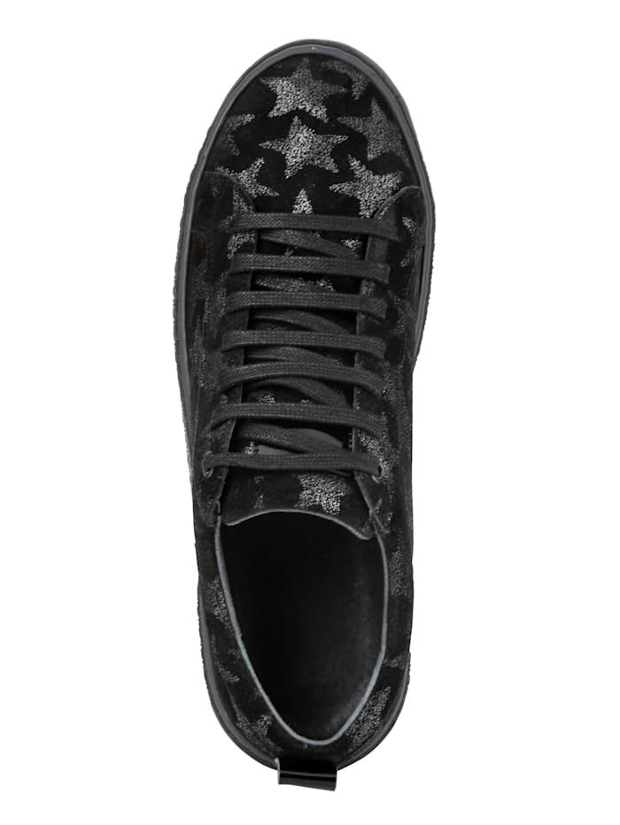 Sneaker met leuk sterrenmotief