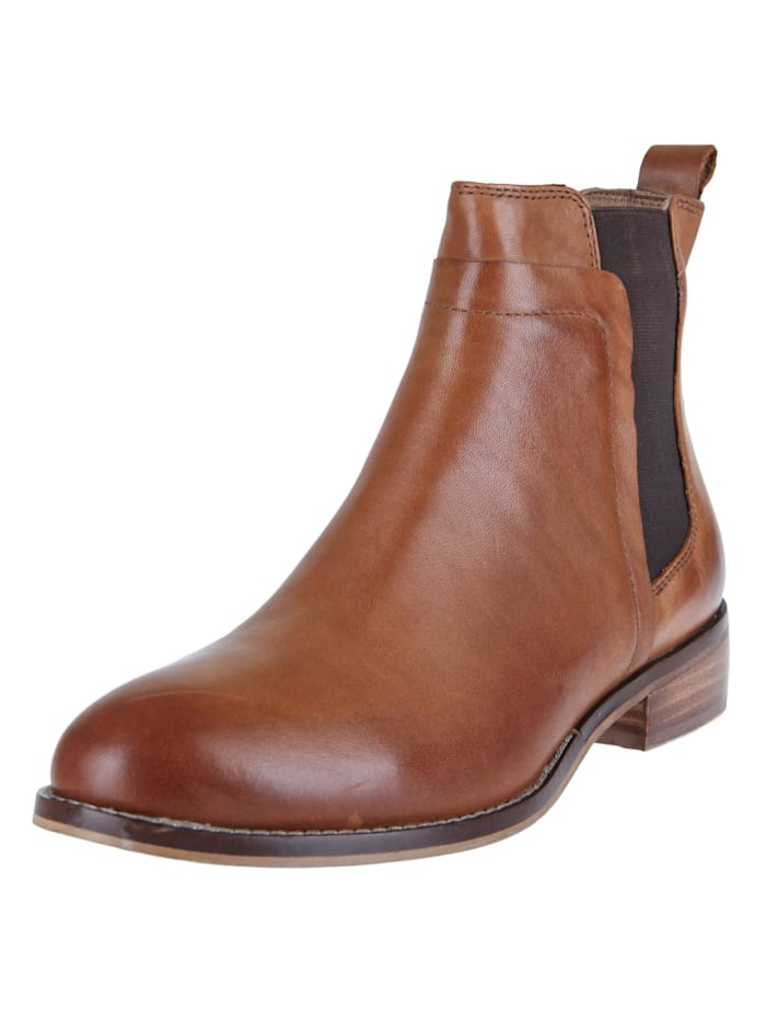 COX Stiefelette Chelsea-Boots, braun-hell