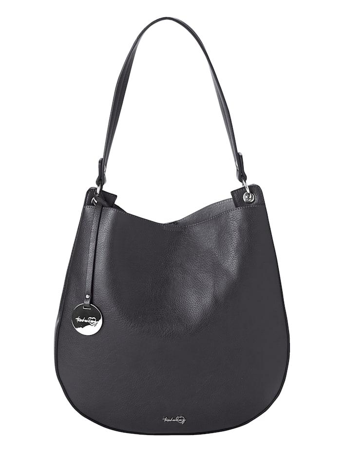 Taschenherz Shopper 2-tlg. mit abnehmbaren Taschenherz-Anhänger 2-teilig, Dunkelgrün