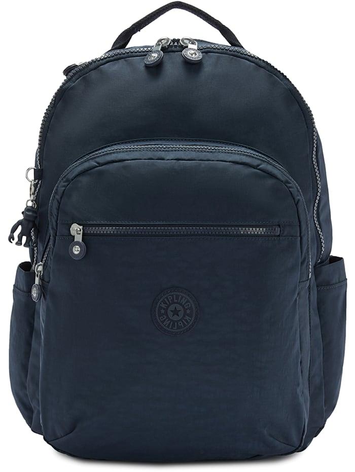 Kipling Basic Seoul XL Rucksack 45 cm Laptopfach, blue bleu 2