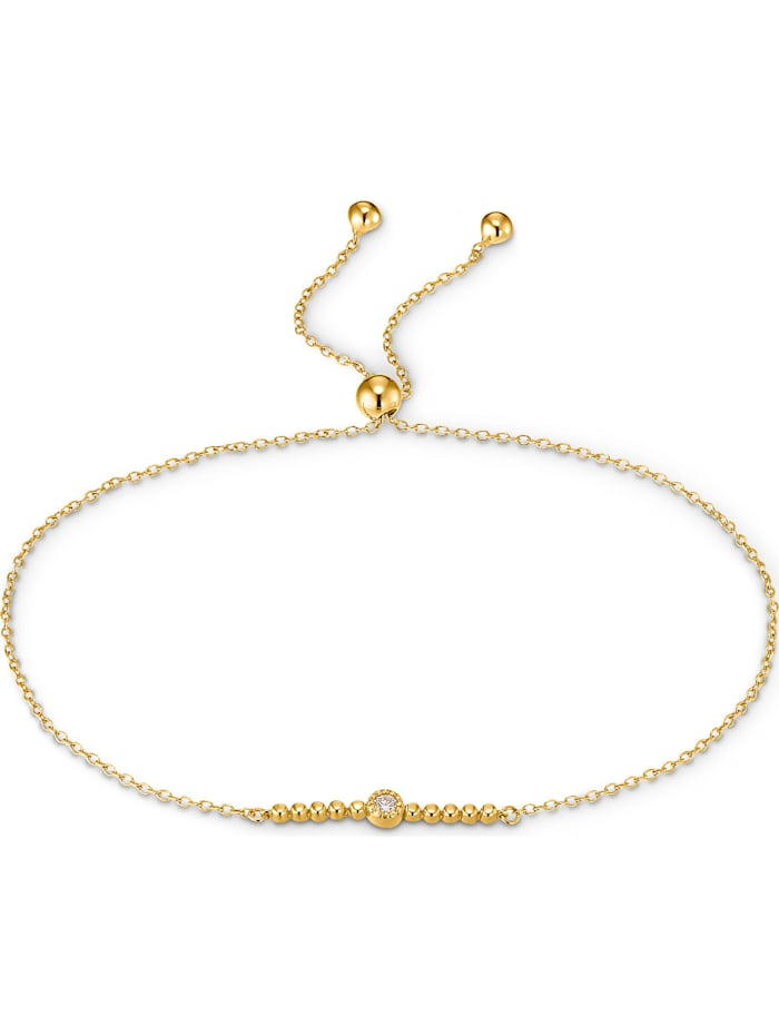 CHRIST C-Collection CHRIST Damen-Armband 1 Diamant, gelbgold