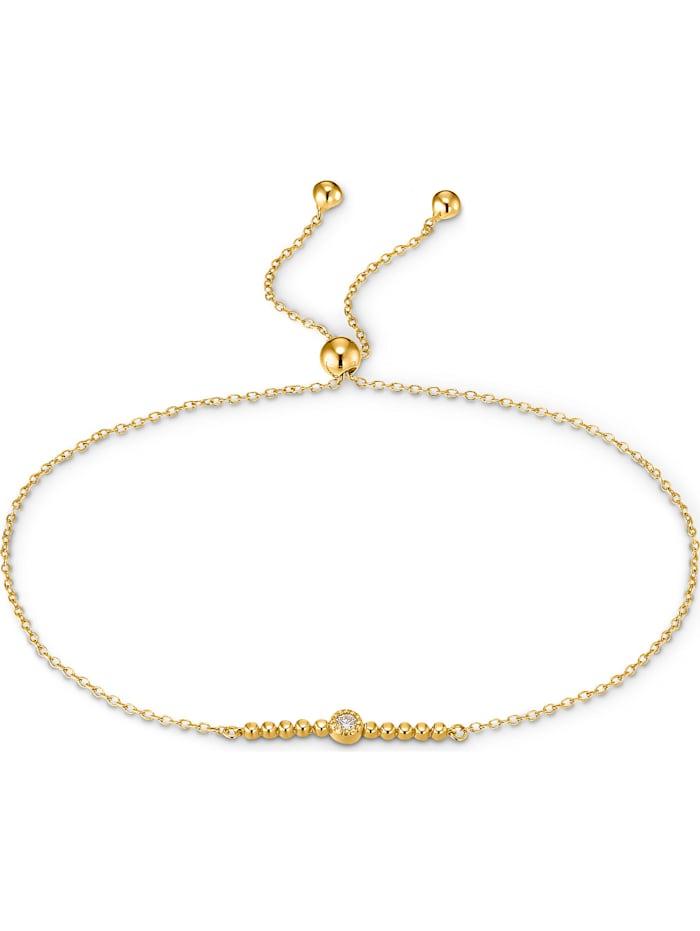 CHRIST Diamonds CHRIST Diamonds Damen-Armband 1 Diamant, gelbgold