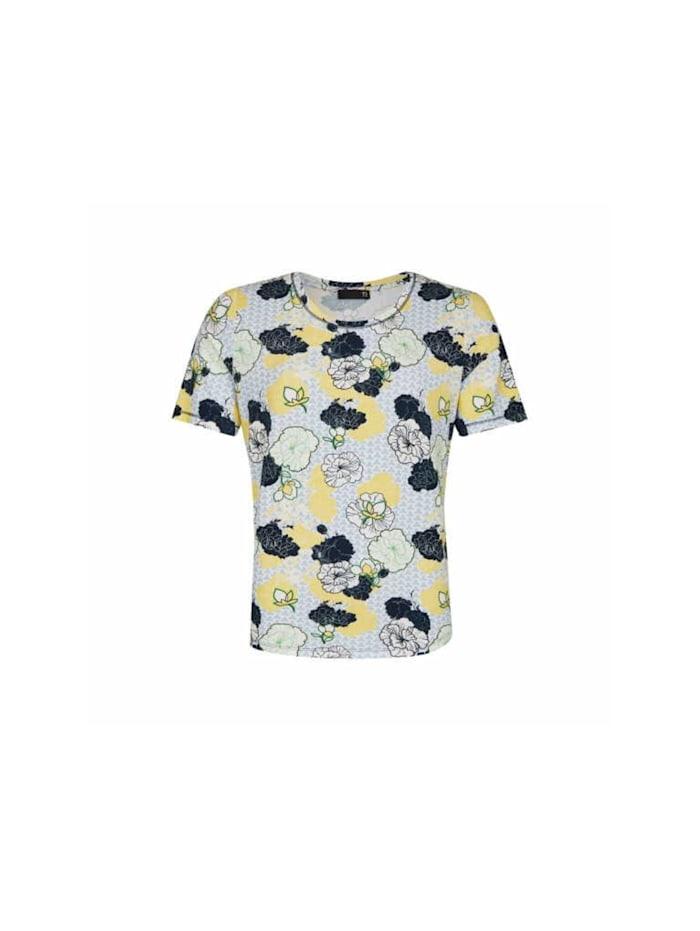 Rabe Fullprint Shirt, blau