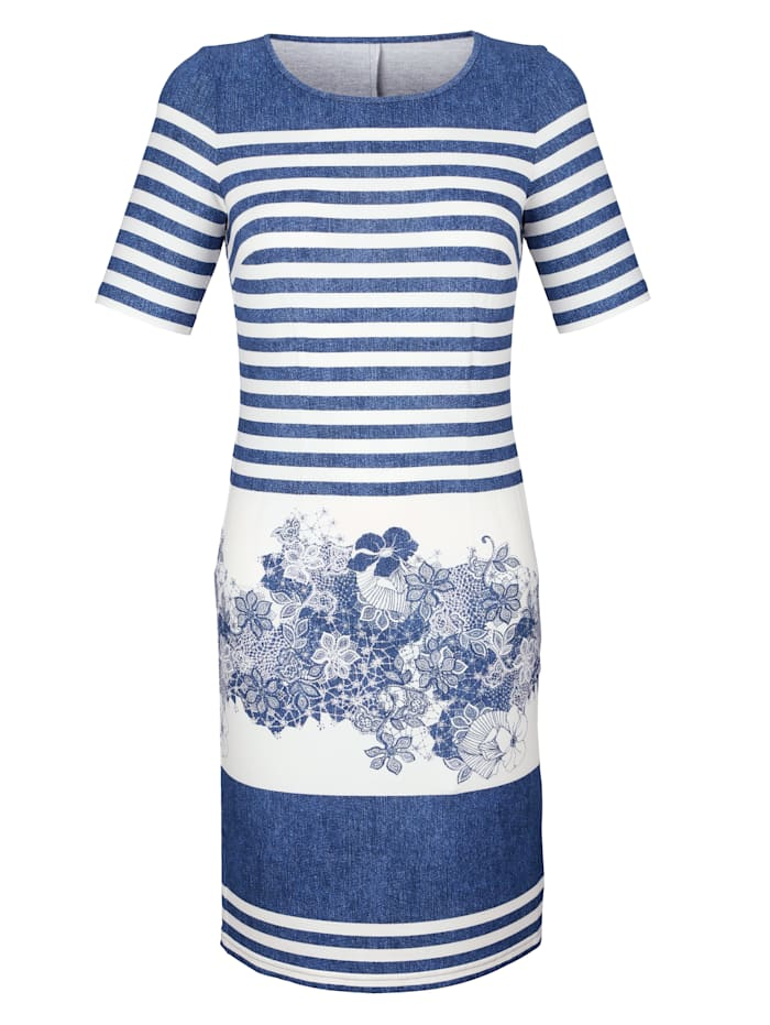Kleid mit sommerlichem Druck