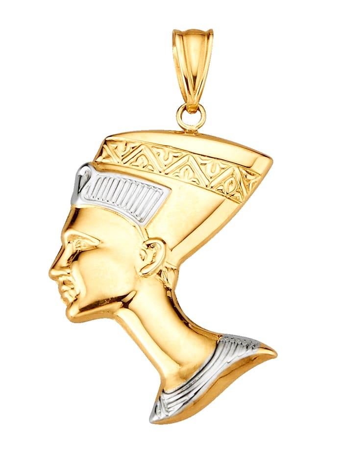 Hanger Nefertiti, Geelgoudkleur