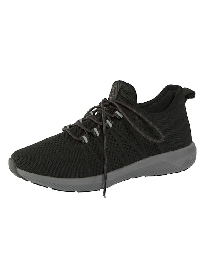 24 Hours Sneaker mit einer 3 Komponenten Zwischensohle, Schwarz