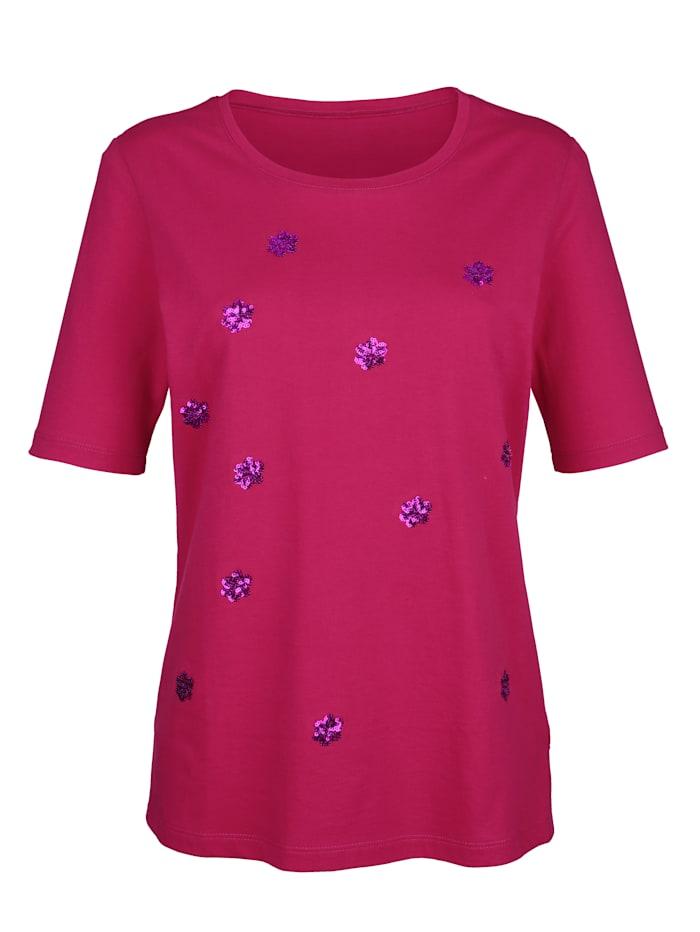 Laura Kent Paljettisomisteinen paita, Pinkki