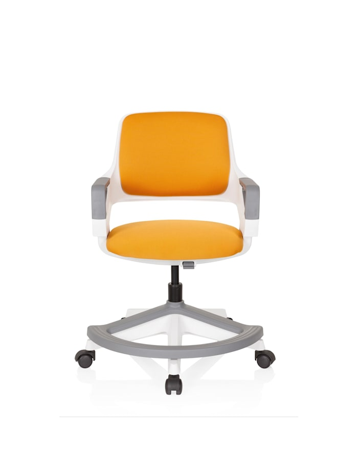 hjh OFFICE Kinderdrehstuhl KID FLEX, Orange