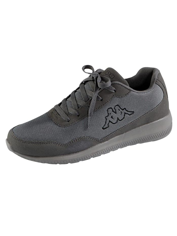 Kappa Sneaker in meshlook, Grijs