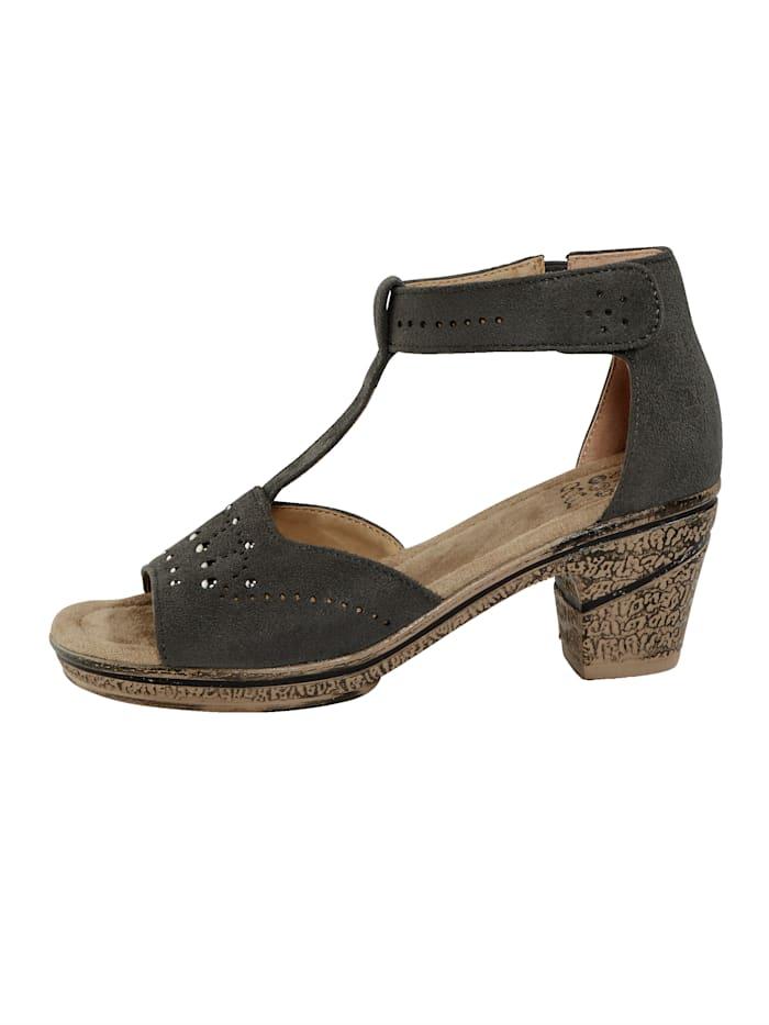 Sandaler Borrelåsrem ved hælen