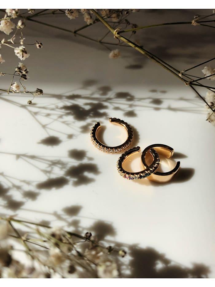 Sif Jakobs Jewellery Damen-Ear Cuffs 925er Silber Zirkonia