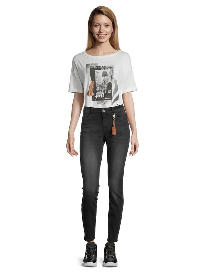 Cartoon Modern fit jeans Slim Fit, Black Denim