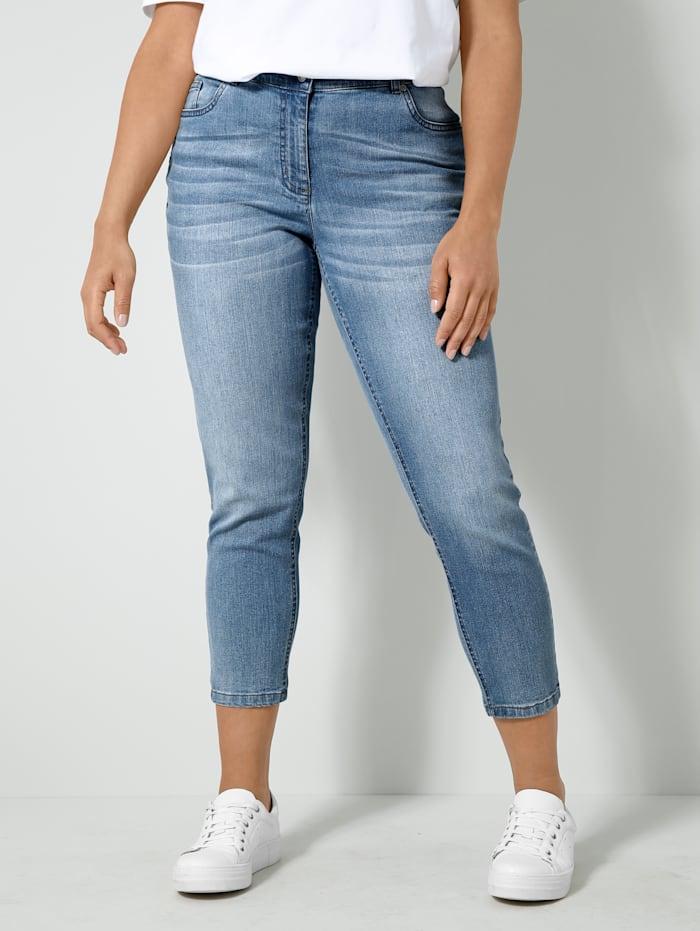 Angel of Style Jeans mit Push-Up Effekt, Blue bleached