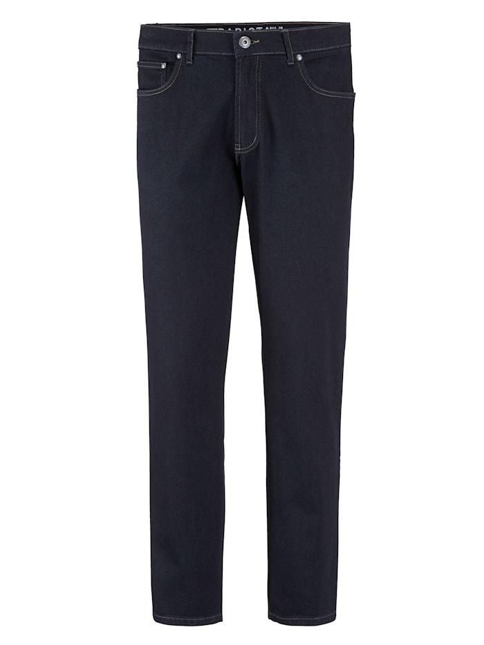 BABISTA Jeans met powerstretch, Donkerblauw