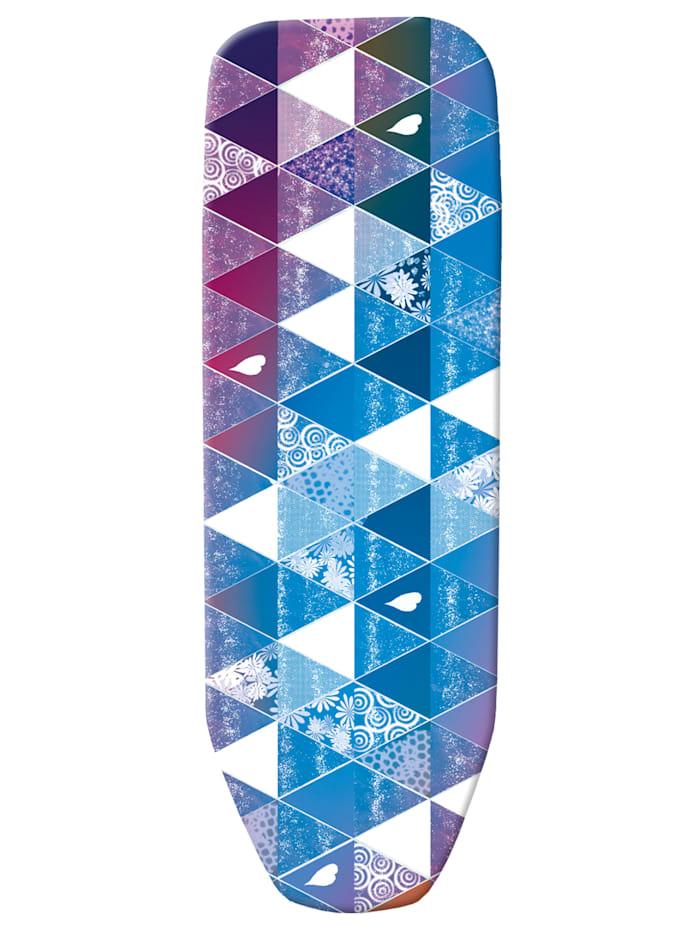 Strijkplankhoes ViralOff®, donkerblauw/multicolor