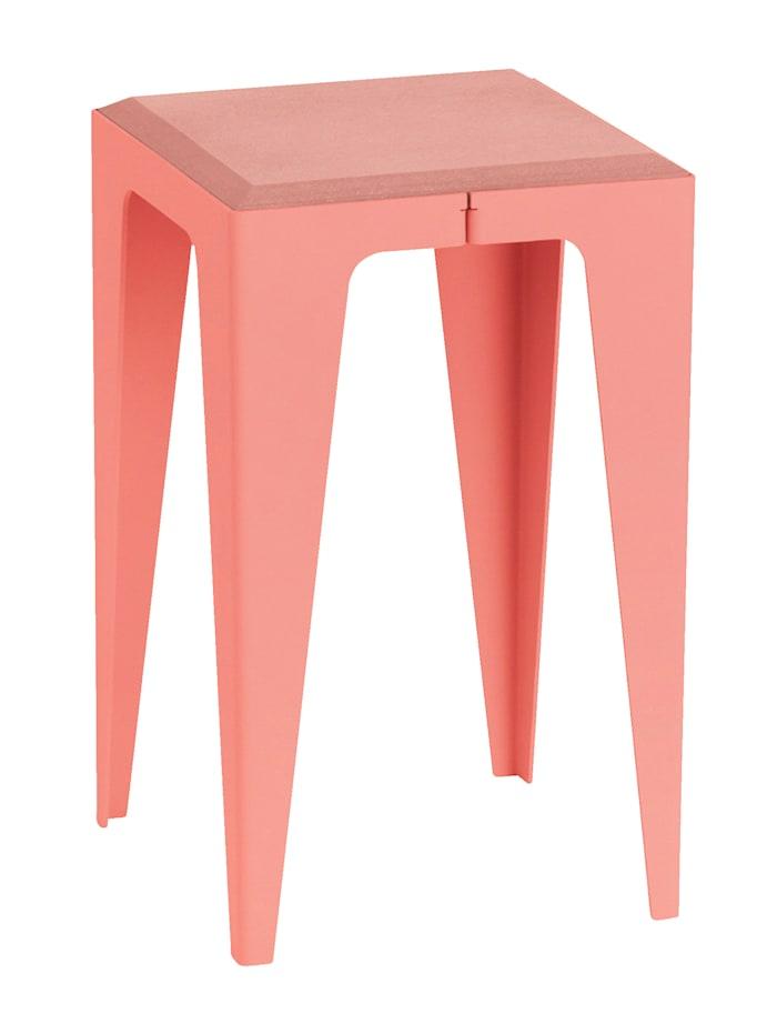 WYE Design Hocker, Kalypso-Rot
