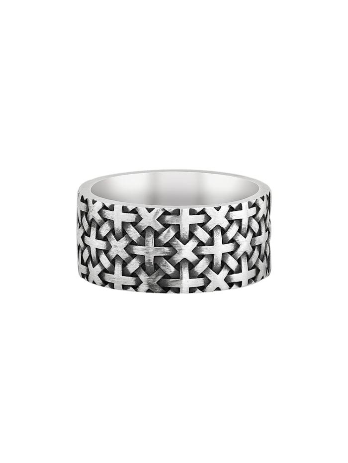 Ring 925/- Sterling Silber Mattiert