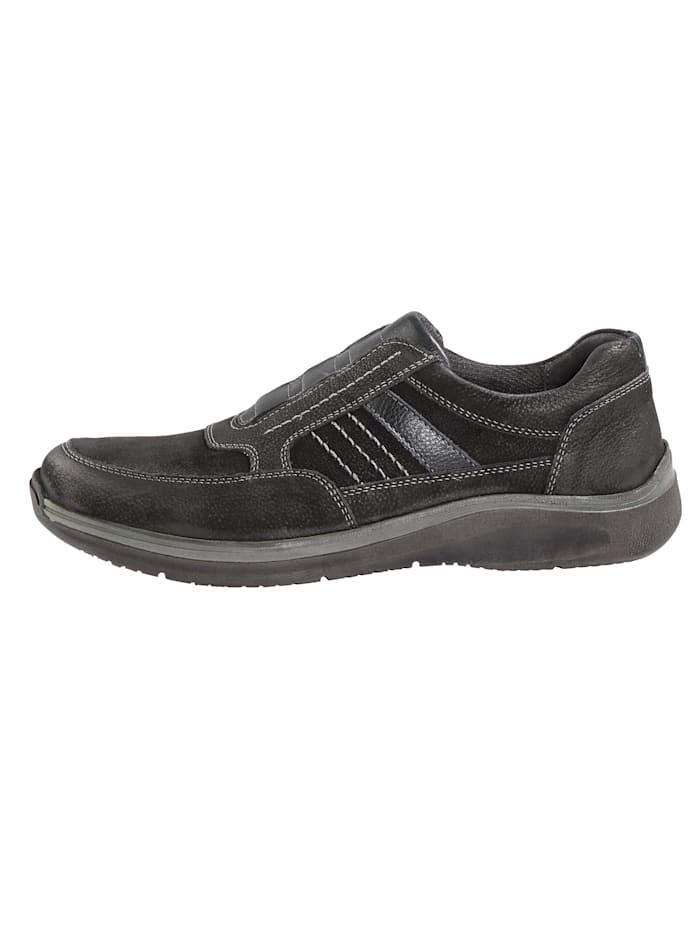 Slipper obuv so skrytou elastickou vsadkou pod jazykom
