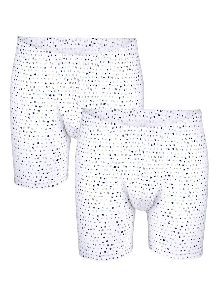Pants in modischem Dessin 2er Pack