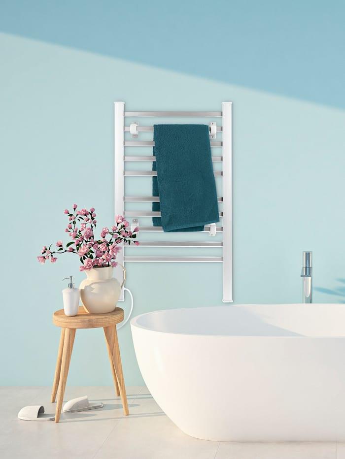 EASYmaxx Handtuchheizung, zur Wandbefestigung im Badezimmer