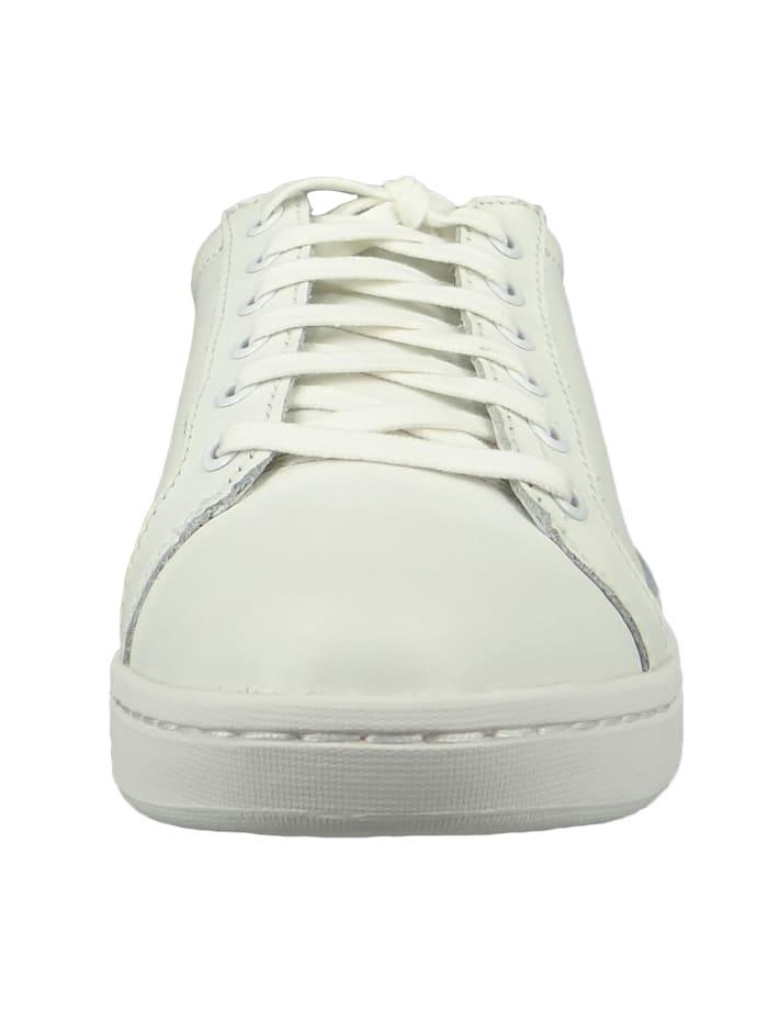 A1MTB Damen White Weiß San Francisco Flavor Oxford Sneaker