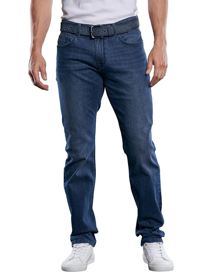 Engbers Besonders elastische und leichte Jeans, Indigoblau