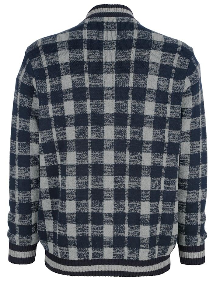 Vest met jacquardpatroon