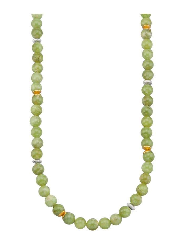 Halskette mit Peridot, Grün