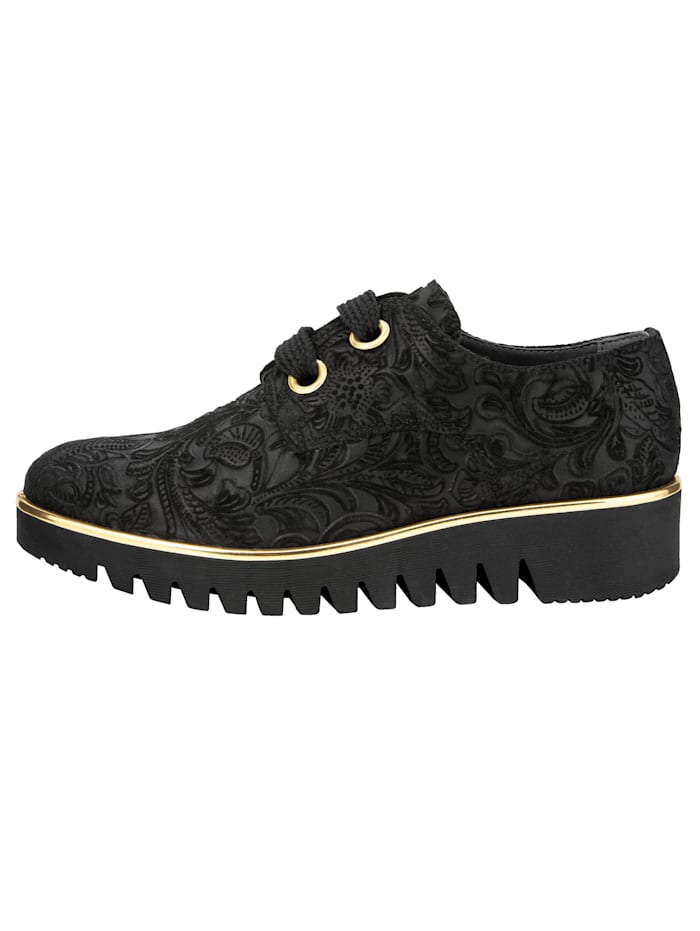 Trainers with gold-tone detailing