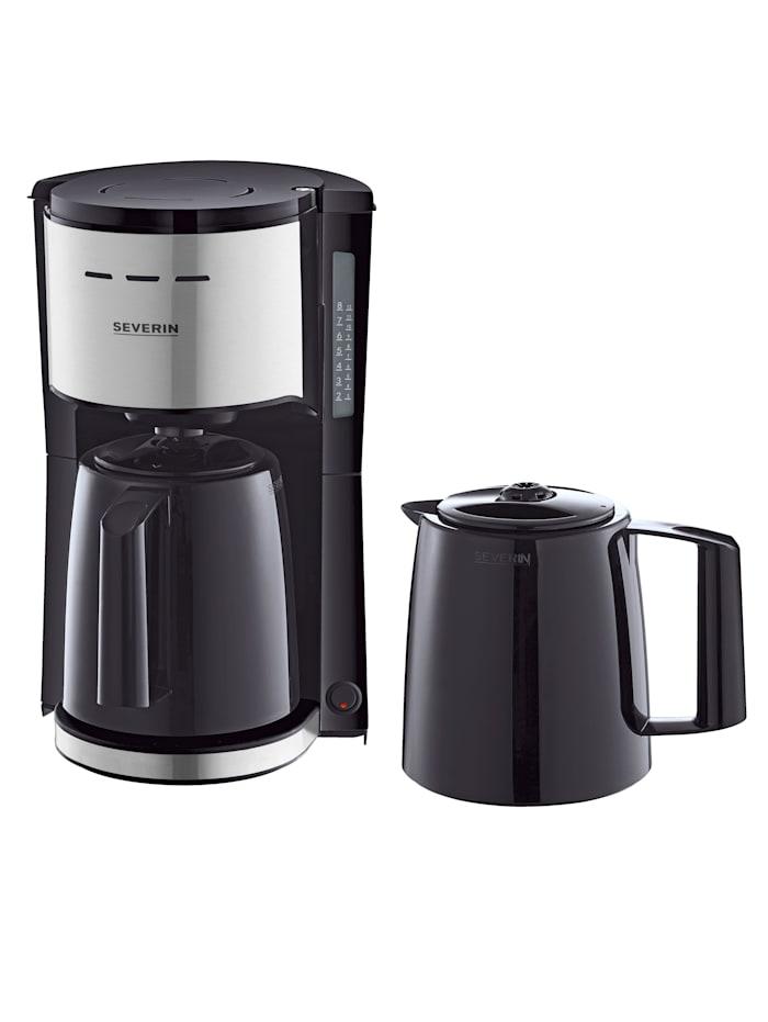 Severin Filterkaffeemaschine KA9253 mit 2 Thermokannen, schwarz