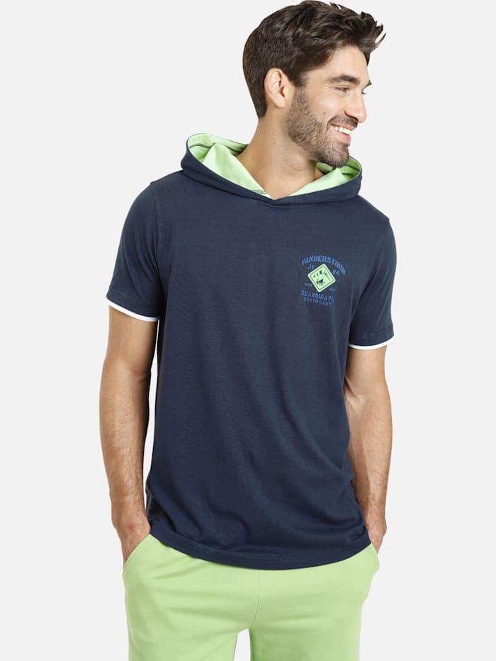 Jan Vanderstorm T-Shirt THIADE, dunkelblau