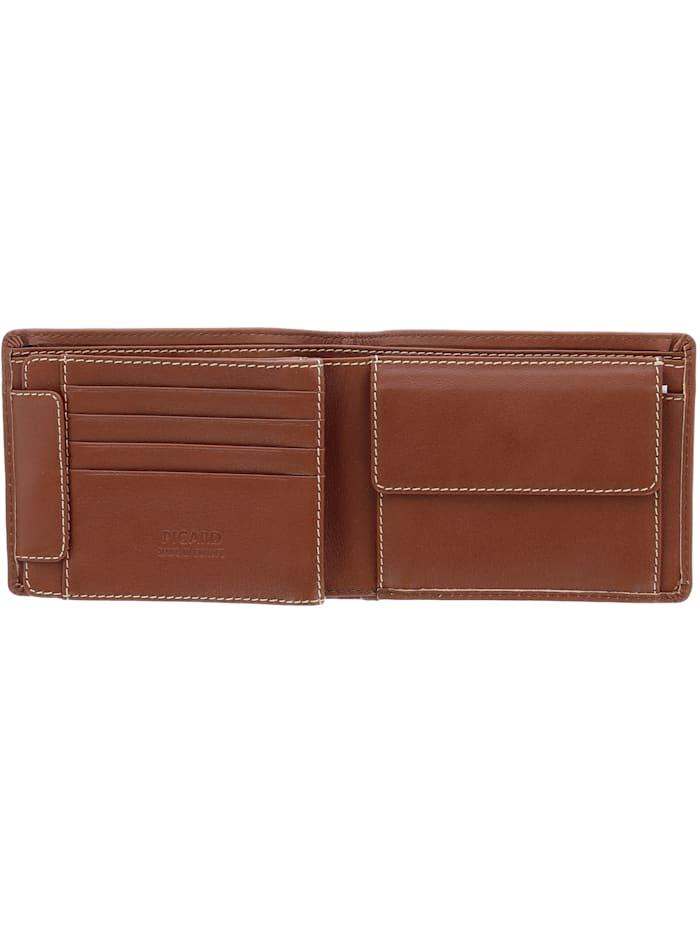 Relaxed Geldbörse Leder 12 cm