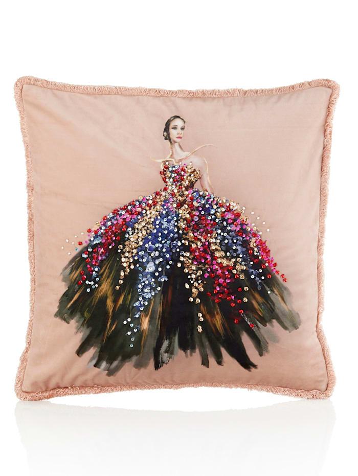 IMPRESSIONEN living Kissenhülle, Pailletten, Ballerina, multicolor