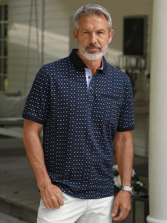 BABISTA Poloshirt mit Brusttasche, Marineblau
