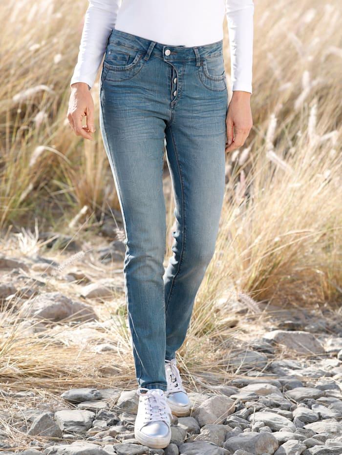 Dress In Jeans Laura extra slim, Blau