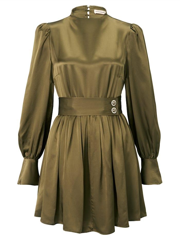 Custommade Kleid, Oliv