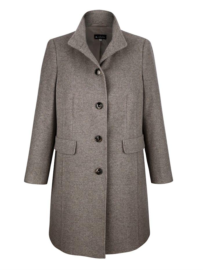 Manteau en laine Style raffiné