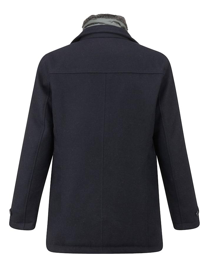 Manteau en laine à technologie CO-3